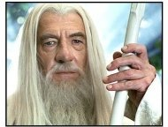 """The Lord of the Rings: The Two Towers movie still: Ian McKellen returns as """"Gandalf the White"""" in The Lord of the Rings: The Two Towers"""
