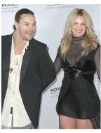Kevin Federline and Britney Spears