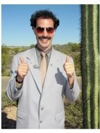 Sacha Baron Cohen stars in  Borat