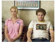 Knocked Up Movie Stills:  Katherine Hiegl and Seth Rogen