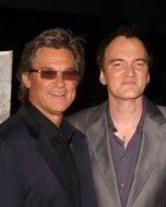 Kurt Russell and Quentin Tarantino