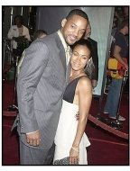"Will and Jada Pinkett Smith at ""The Matrix Revolutions"" premiere"