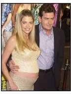"Charlie Sheen and wife Denise Richards at ""The Big Bounce"" premiere"