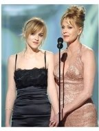 63rd Golden Globes Stage Photos: Melanie Griffith and Dakota Johnson
