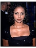 "Lark Voorhies at the ""BASEketball"" Premiere"