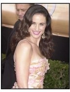 10th Annual SAG Awards - Andie MacDowell - Red Carpet