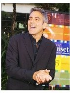 """George Clooney at """"The Bourne Supremacy"""" Premiere"""