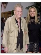 """Rodney Dangerfield and wife Joan at the """"Bruce Almighty"""" premiere"""