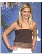 Teen Choice Awards 2002 Backstage: Sarah Michelle Gellar