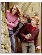"""Harry Potter and the Prisoner of Azkaban"" Movie Still: Emma Watson, Daniel Radcliffe, Rupert Grint"