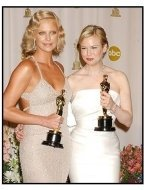 76th Annual Academy Awards - Charlize Theron and Renee Zellweger - Backstage