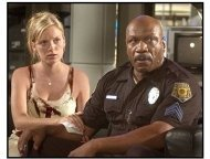 """""""Dawn of the Dead"""" Movie still: Sarah Polley and Ving Rhames"""