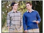 """American Wedding""  Movie Still: Eddie Kaye Thomas and Seann William Scott"