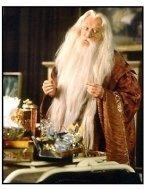 Harry Potter movie still: Richard Harris