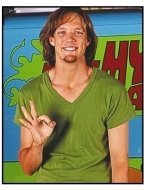 Scooby-Doo movie still: Matthew Lillard as Shaggy