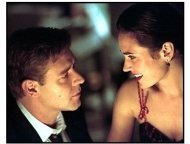 A Beautiful Mind movie still: Russell Crowe and Jennifer Connelly
