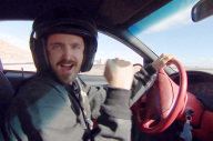 'Need For Speed' Aaron Paul's Driving School
