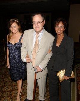 David L. Lander and family