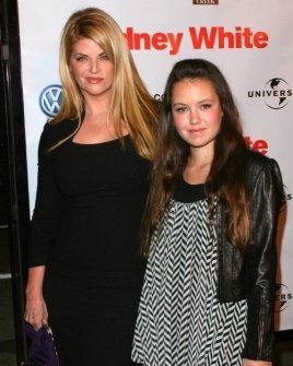 Kirstie Alley and daughter Lillie