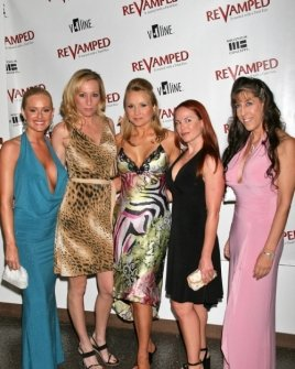 "L-R Katie Lohmann, Melissa ""Mojo"" Hunter, Alana Curry, Lisa Cash and DeeDee Bigelow"