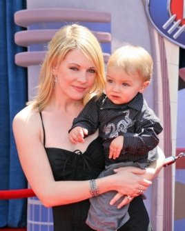 Melissa Joan Hart and son Mason