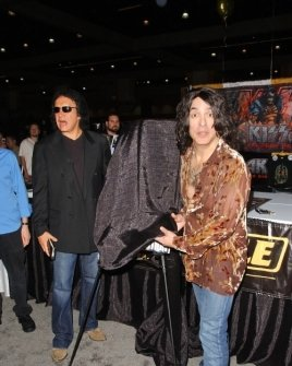 Gene Simmons and Paul Stanley