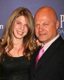 Michael Chiklis and daughter
