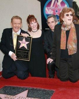 Jerry Stiller and Anne Meara with Ben Stiller and Amy Stiller
