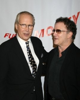 Chevy Chase and Albert Brooks