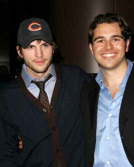 Ashton Kutcher and Charlie Ebersol