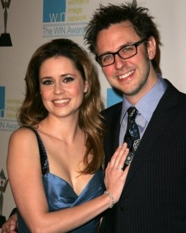 Jenna Fischer and James Gunn