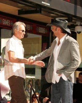 Billy Bob Thornton and Tim McGraw