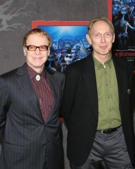 Danny Elfman and Henry Selick