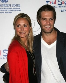 Stacy Keibler and Geoff Stults
