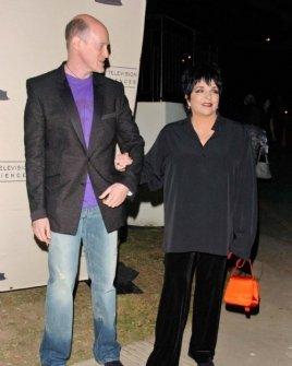 Neil Meron and Liza Minnelli