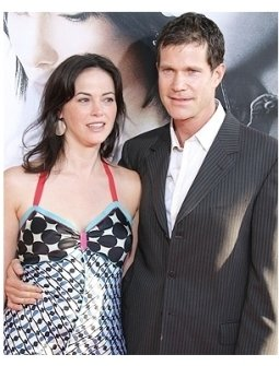 Joanna Going and Dylan Walsh