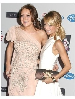 Lindsay Lohan and Nicole Richie