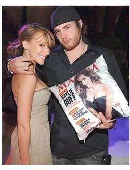 Maxim 100th Issue Party Photos:  Haylie Duff and Greg Carney