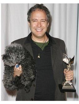 06 Weinstein Pre-Oscar Party Photos:  Duncan Tucker and his dog Zero