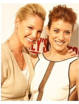 Greys Anatomy DVD Release Party: Katherine Heigl and Kate Walsh