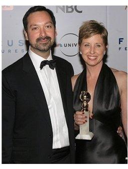 NBC Universal GG After Party Photos: James Mangold and Cathy Konrad