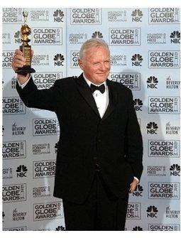 63rd Golden Globes Backstage Photos: Anthony Hopkins
