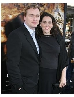 Batman Begins Premiere: Christopher Nolan and Emma Thomas