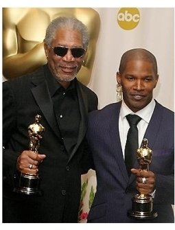 77th Annual Academy Awards BS: Morgan Freeman and Jamie Foxx
