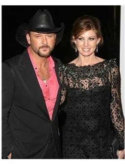 Warner Music Group's Post Grammy Party: Tim McGraw and Faith Hill