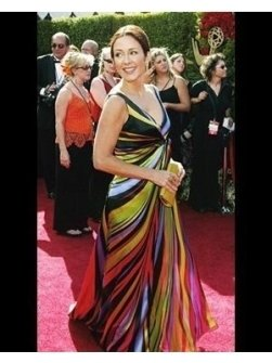 Patricia Heaton on the Red Carpet at the 2004 Primetime Emmy Awards