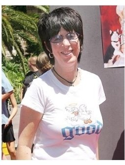 Diane Warren at The Princess Diaries 2: Royal Engagement World Premiere