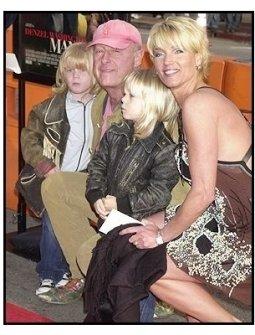 """Director Tony Scott and his family at the """"Man on Fire"""" Premiere"""