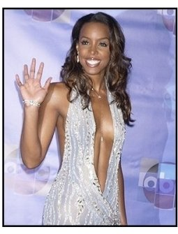 "Kelly Rowland backstage at the ABC Television Network Special,  ""Motown 45"""