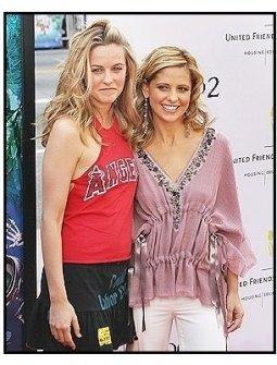 """Alicia Silverstone and Sarah Michelle Gellar at the """"Scooby-Doo 2: Monsters Unleashed"""" Premiere"""